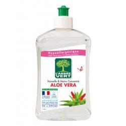L'Arbre Vert Öko mosogató- és kézmosószer aloe verával, 500 ml