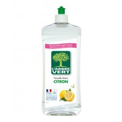 L'Arbre Vert Öko mosogatószer citrom illattal, 750ml