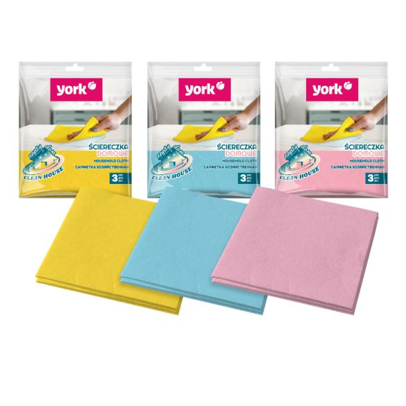 York Univlies törlőkendő 3 db