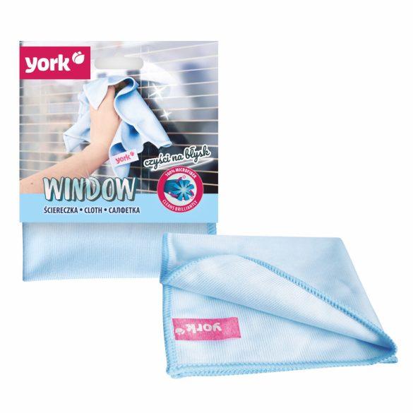 York Window mikroszálas ablaktörlő kendő 1 db