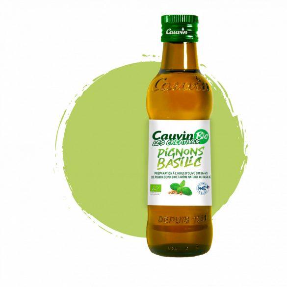Cauvin Bio Bazsalikomos olívaolaj 250ml