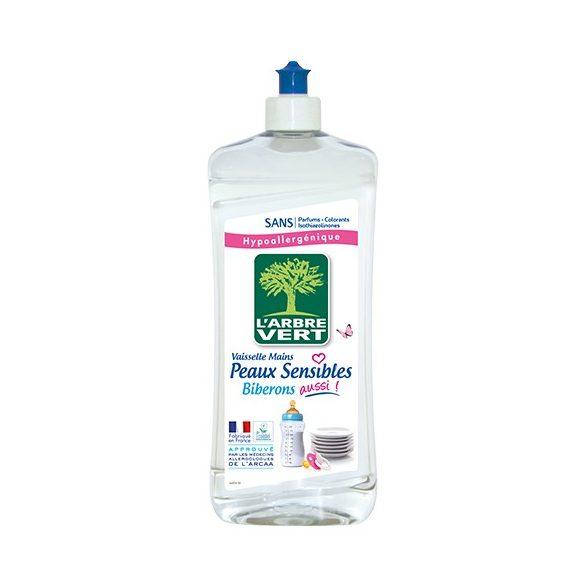 L'Arbre Vert Öko mosogatószer érzékeny bőrre - Családbarát, 750ml