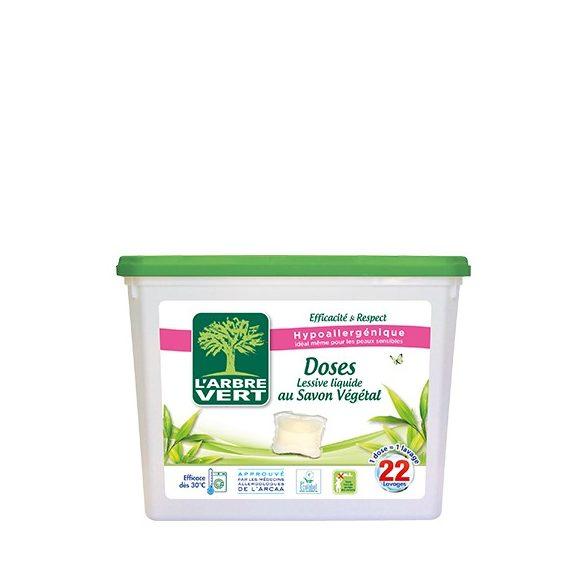 L'Arbre Vert Folyékony mosószer kapszula növényi szappannal, 22db