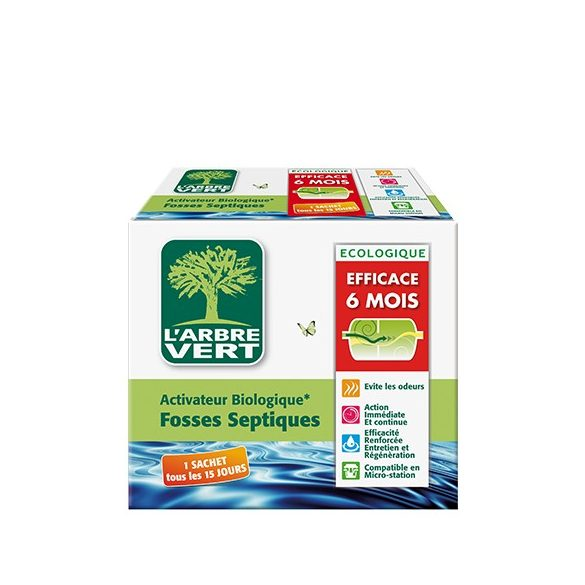 L'Arbre Vert Öko lefolyótisztító és fertőtlenítő, 12db