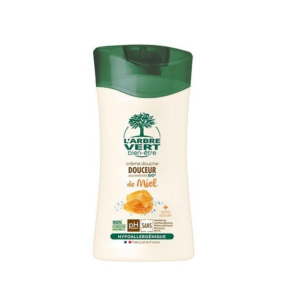 L'Arbre Vert Lágy krémtusfürdő mézzel, 250ml