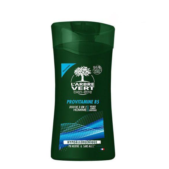 L'Arbre Vert 3 az 1-ben tusfürdő férfiaknak, 250ml