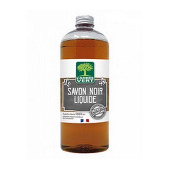 L'Arbre Vert Folyékony fekete szappan 750ml