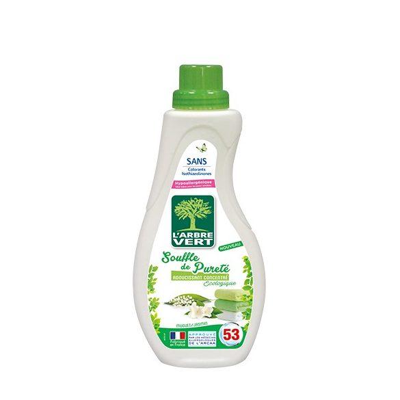 L'Arbre Vert Textilöblítő koncentrátum gyöngyvirág és jázmin illattal, 800ml