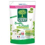 L'Arbre Vert Textilöblítő utántöltő gyöngyvirág és jázmin illattal,  800ml