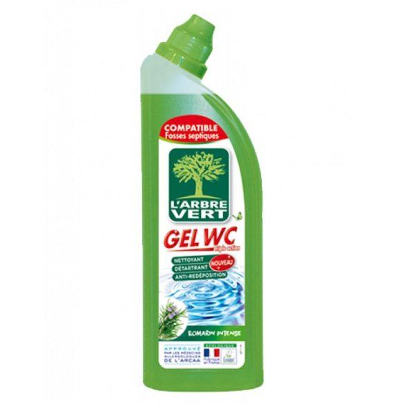L'Arbre Vert Öko WC tisztító gél rozmaring ilattal, 740ml