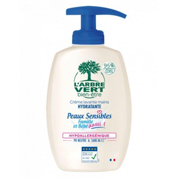 L'Arbre Vert Folyékony öko szappan érzékeny bőrre - Családbarát, 300ml