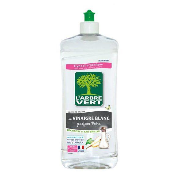 L'Arbre Vert Öko mosogatószer fehér ecettel,  körte illattal, 750ml