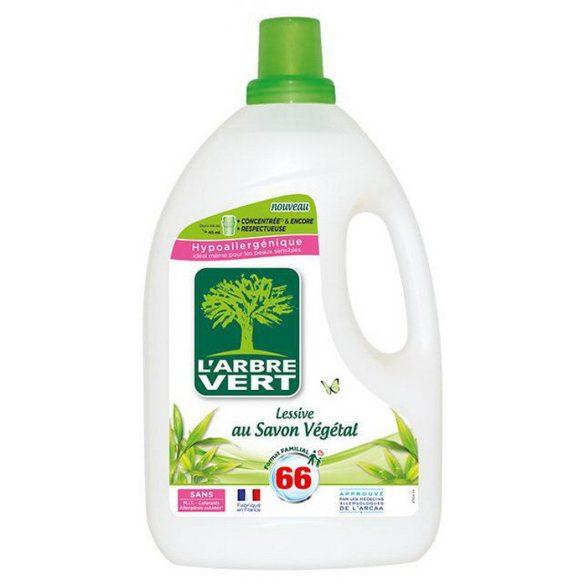 L'Arbre Vert Folyékony öko mosószer koncentrátum növényi szappannal 3L