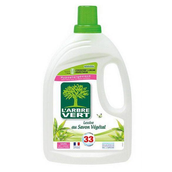 L'Arbre Vert Folyékony öko mosószer koncentrátum növényi szappannal, 1,5L