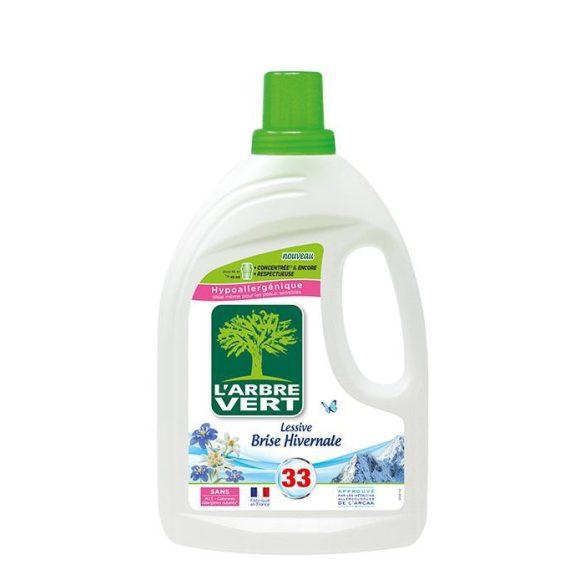 L'Arbre Vert Folyékony öko mosószer koncentártum friss téli szellő illattal, 1,5L