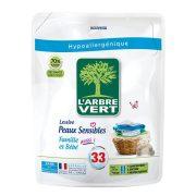 L'Arbre Vert Folyékony öko mosószer utántöltő érzékeny bőrre - Családbarát 1,5L