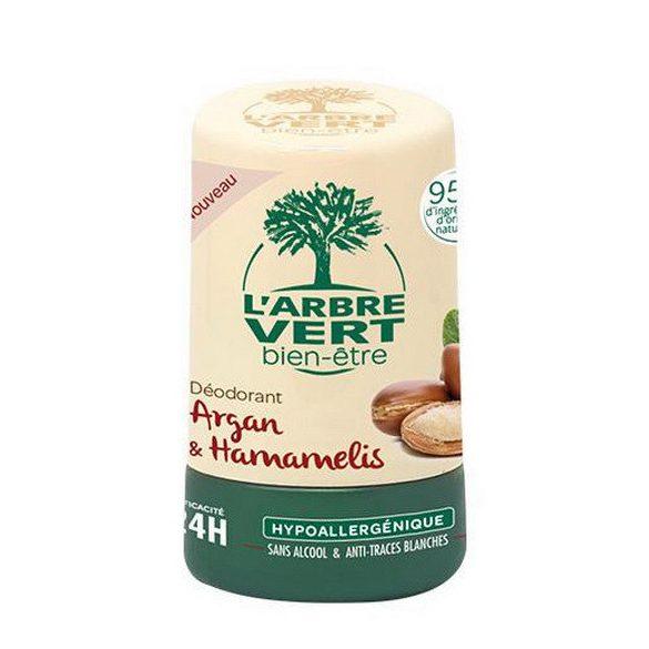 L'Arbre Vert roll-on argán olaj és varázsmogyoró kivonattal, 50ml