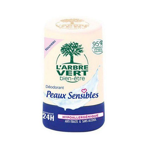 L'Arbre Vert roll-on aloe vera kivonattal érzékeny bőrre, 50ml