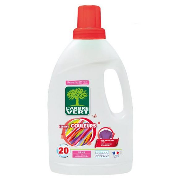 L'Arbre Vert folyékony mosószer Color, 1,2L