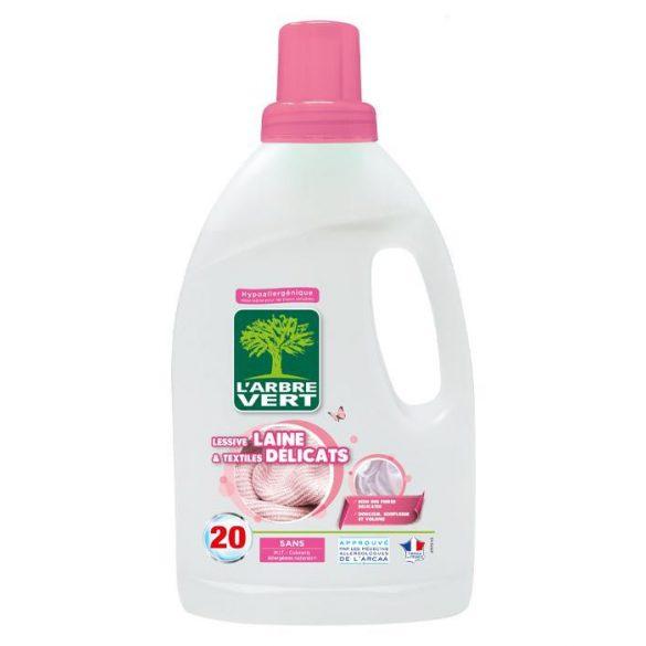 L'Arbre Vert folyékony mosószer finom és gyapjú textíliákhoz 1,2L