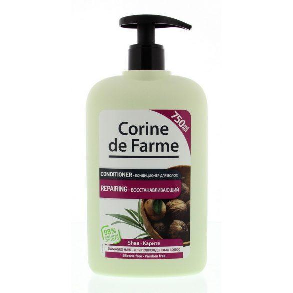 Corine de Farme Balzsam shea vajjal és olivaolaj kivonattal száraz, sérült hajra, 750ml
