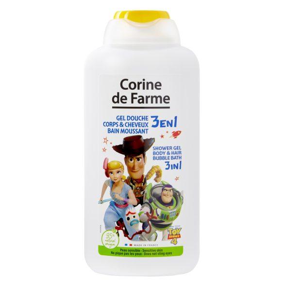Corine de Farme Tusfürdő, sampon és habfürdő gyerekeknek, 500ml - Toy Story