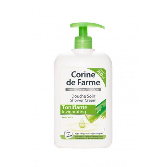 Corine de Farme pumpás krémtusfürdő aloe verával, 750ml
