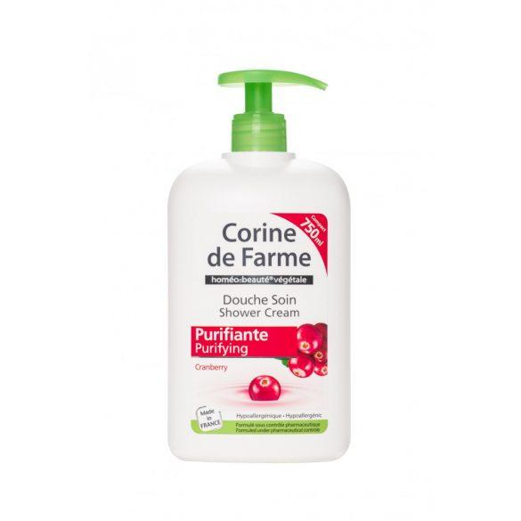 Corine de Farme pumpás krémtusfürdő tőzegáfonya kivonattal, 750ml