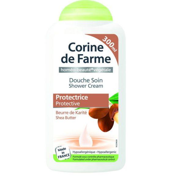 Corine de Farme krémtusfürdő shea vajjal, 300ml