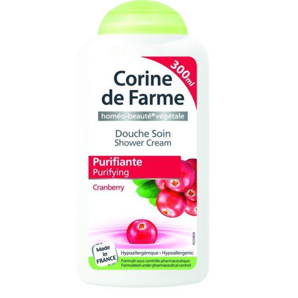 Corine de Farme krémtusfürdő tőzegáfonya kivonattal, 300ml