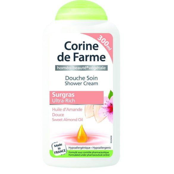 Corine de Farme krémtusfürdő mandula olaj kivonattal, 300ml