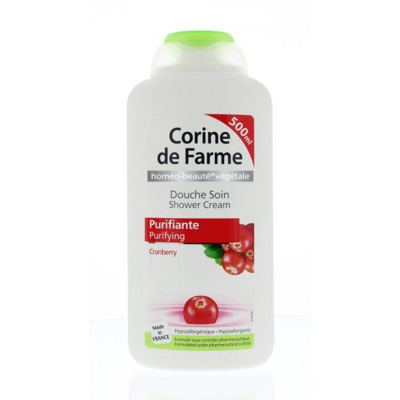 Corine de Farme krémtusfürdő tőzegáfonya kivonattal, 500ml