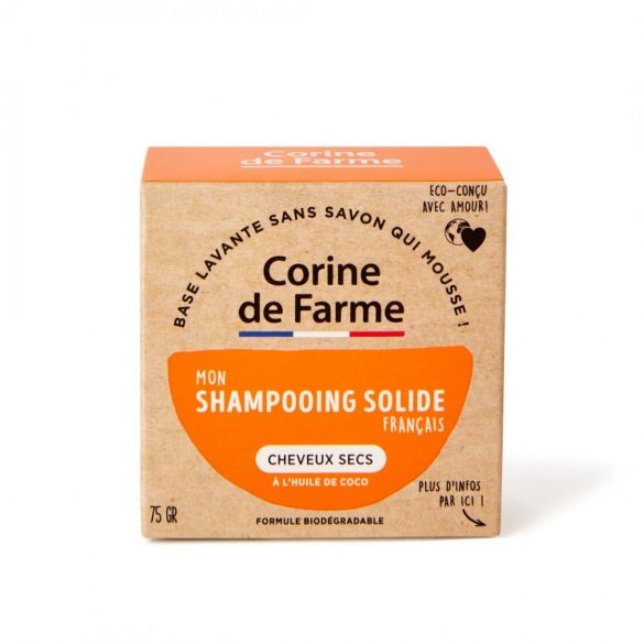 Corine de Farme Szilárd sampon száraz hajra, 75g