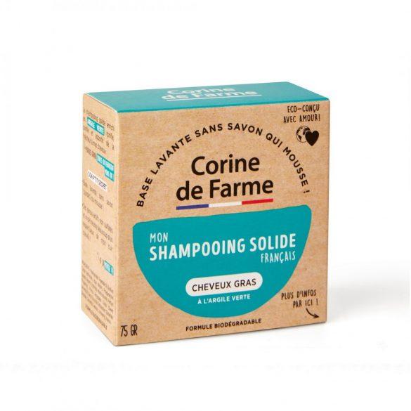 Corine de Farme Szilárd sampon zsíros hajra, 75g