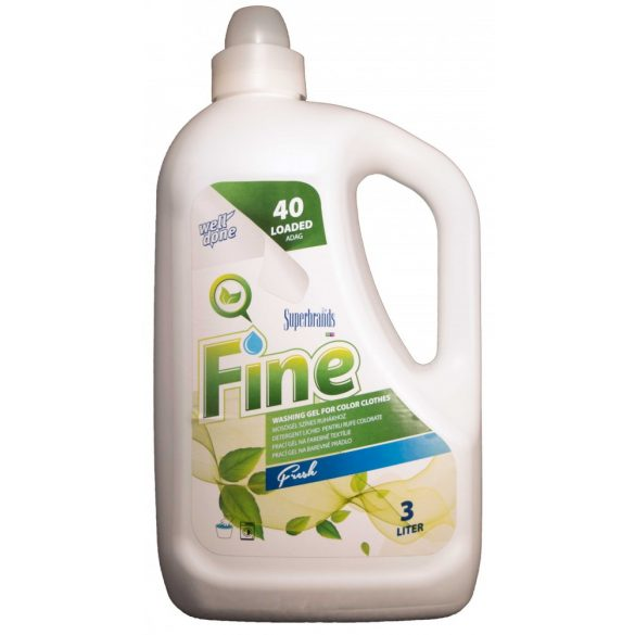 Well Done mosógél színes ruhákhoz - Fresh, 3L