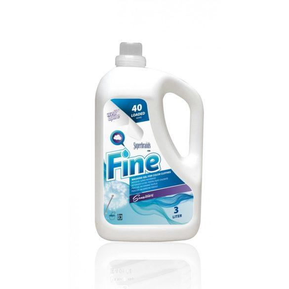Well Done mosógél színes ruhákhoz - Sensitive, 3L