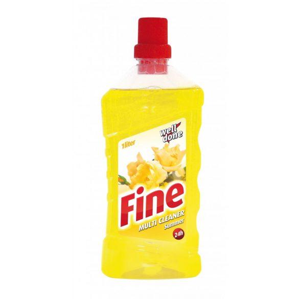 Well Done Fine Multi Cleaner tisztítószer - Summer, 1L