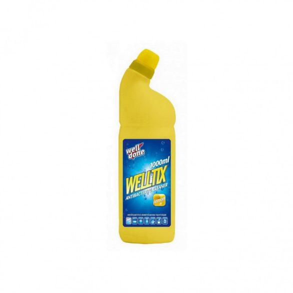 Well Done Welltix fertőtlenítőszer - Lemon, 1L