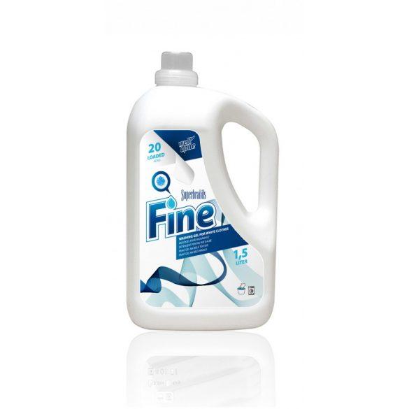 Well Done mosógél fehér ruhákhoz, 1,5L
