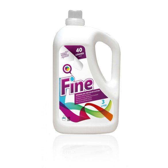 Well Done mosógél színes ruhákhoz, 3L