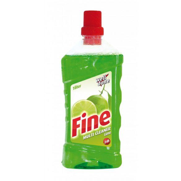 Well Done Fine Multi Cleaner tisztítószer - Lime, 1L