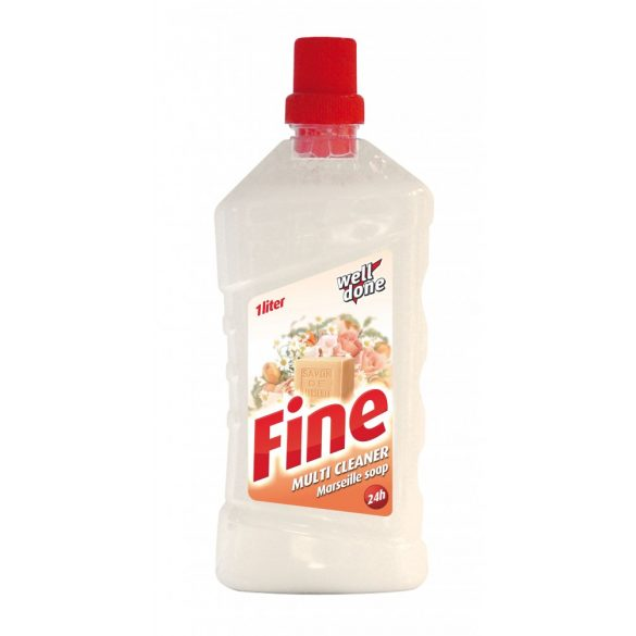 Well Done Fine Multi Cleaner tisztítószer -  Marseille soap, 1L