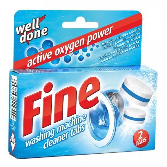 Well Done Fine mosógéptisztító tabletta, 80g