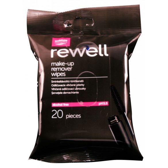 Well Done törlőkendő Rewell - sminkeltávolító, 20db