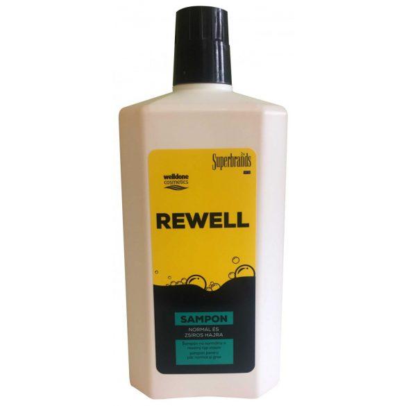 Well Done Rewell sampon normál és zsíros hajra, 1L