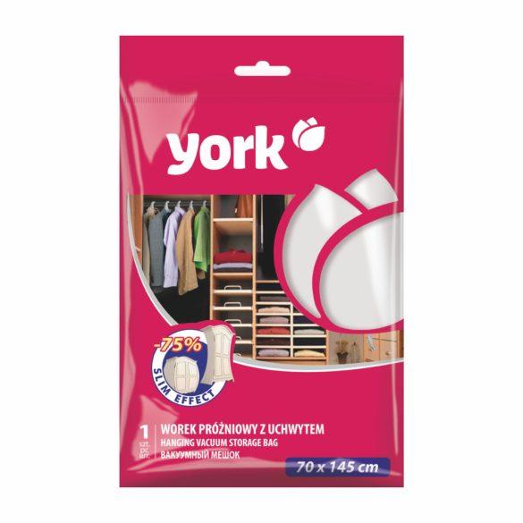 York vákuum zsák akasztós 70x145cm