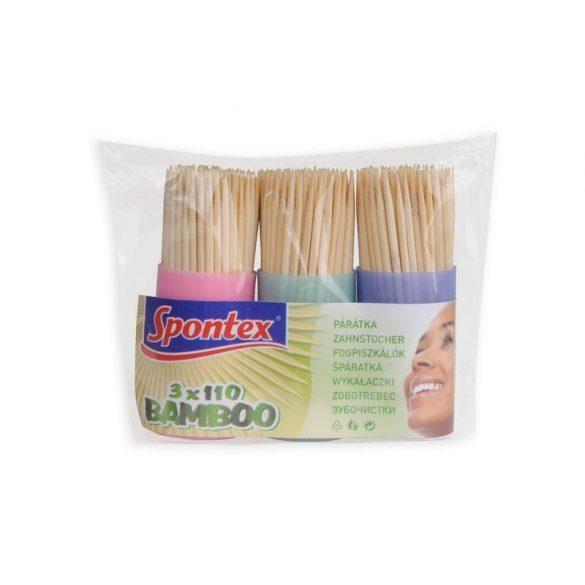 Spontex Bamboo fogvájó 3x110db