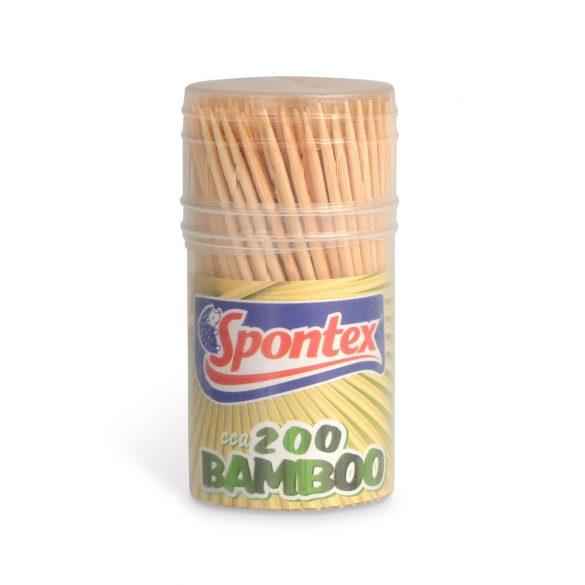 Spontex Bamboo fogvájó 200db