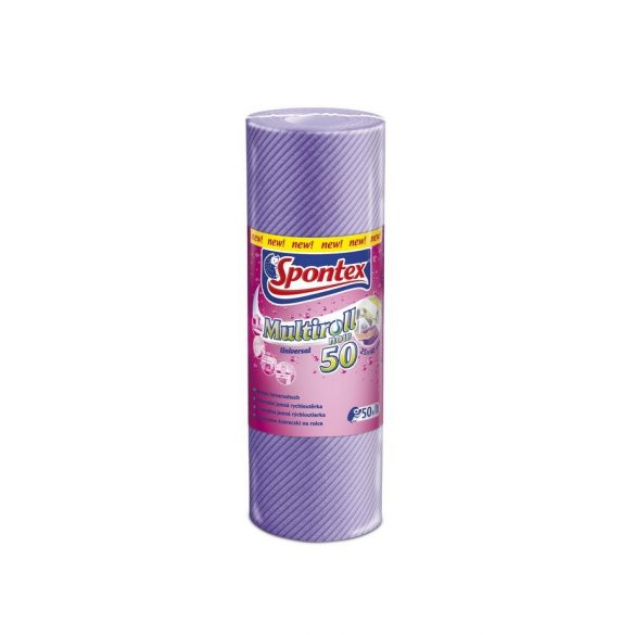 Spontex Multiroll törlőkendő tekercs 50db