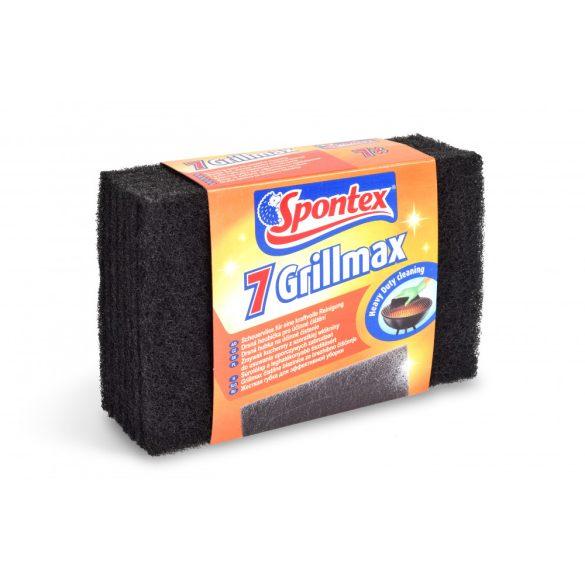 Spontex Grillmax súrolólap barbecue- és grillsütőkhöz 7 db